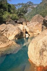 Emerald ponds (Kipepeo India) Tags: bridge root emerald cherrapunji meghalaya cherrapunjee