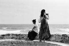 Untitled (richardhwc) Tags: blackandwhite film friend asahi pentax takumar m42 spotmatic srilanka ceylon galle smc 50mmf14 kodaktmax100