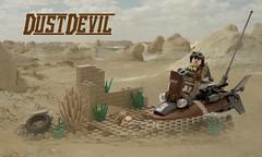 """DustDevil"" (a.k.a. ""MudSkipper"") (ted @ndes) Tags: lego system mak hoverbike lsb krieger maschinen speederbike"