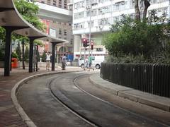 石塘咀電車總站(Shek Tong Tsui Terminus)[2013]