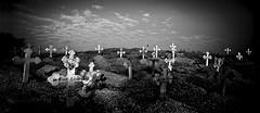 Spirirt of Joal Fadiouth (Ma Poupoule) Tags: africa travel bw night landscape blackwhite tomb nb adventure nuit tombe cimetery noirblanc afrique cimetire sngal joal fadiouth mapoule