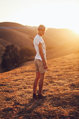 """Aviary."" (1) (David Talley) Tags: sunset fashion birds golden boots urbanoutfitters hills lensflare flare aviary hm rollinghills chinohills goldenhills brianoldham"