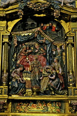 Biblical scene in the Burgos Cathedral (Arjan Hamberg) Tags: religious spain cathedral picture catedral scene altar espana burgos biblical spanje kathedraal tafereel bijbels altaar religieus