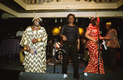 Gifty NaaDK from Ghana Etome with Sopie from Cte d'Ivoire Dancing at the Africa Centre London March 2001  082 (photographer695) Tags: gifty from ghana africa centre mar 2001 083 sophie dancing naadk etome with sopie cte divoire london march