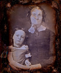 At Grandmother's Side, 1/9th-Plate Daguerreotype, Circa 1853 (lisby1) Tags: collection ann longmoreetheridge