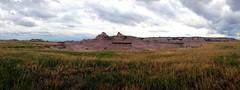 Badlands rock formations (LondonLeyla) Tags: park rock south structures national badlands dakota formations geological
