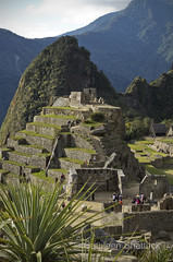 Machu Picchu. Intihuatana hill.