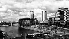 Media City at Salford Quays (Wayne Molyneux) Tags: salfordquays manchestershipcanal mediacity tvstudios