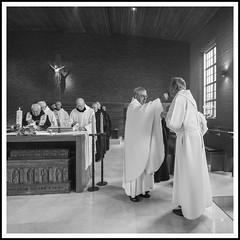 Jubileum Franco (BlackpitShooting) Tags: church dom kerk franco klooster jubileum affligem dienst abdij viering kerkdienst