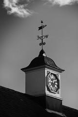 Time stood still... (laufar1) Tags: clock blackwhite compass