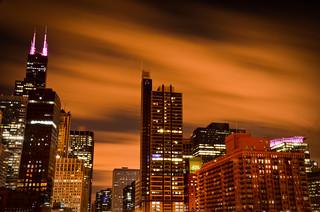 Windy City @ night