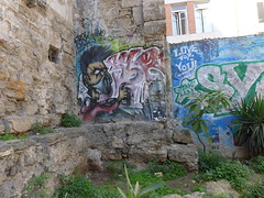 I'm a sprayer | young street art on old stones | Palermo, Sicilia, Italia 2013 (signaturen) Tags: graffiti palermo taormina etna catania sicilia sizilien tna mygearandme