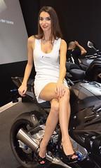Eicma 2013 Model (285) (Pier Romano) Tags: woman sexy girl beautiful bike model expo milano babe moto motorcycle donne hostess bellezza fiera ciclo rho ragazze modelle eicma 2013