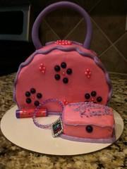 Cake purse by Cristy, RDU, NC, www.birthdaycakes4free.com