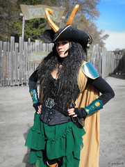 Lady Pirate Loki (greyloch) Tags: sexy festival costume pretty cosplay mashup northcarolina pirate loki renaissance crf carolinarenaissancefestival 2013 rule63