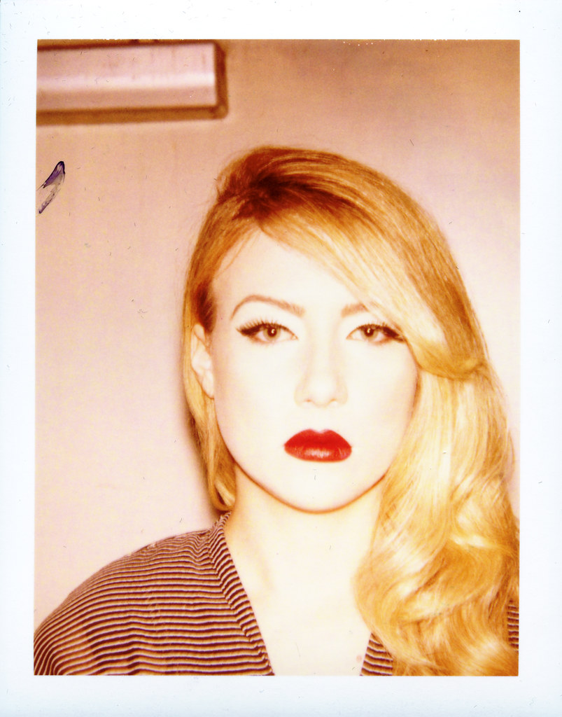 8b3f921482 Forgotten Muse - Madelyn (mattbellphoto) Tags  fashion vintage polaroid  greensboro 690 expiredfilm packfilm