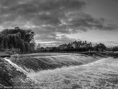 The Weir on the River Severn in Shrewsbury (johnkenyonphotography@gmail.com) Tags: shropshire riversevern shrewsbury weir castlefields