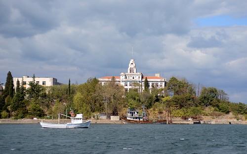 Former Naval academy. Sozopol, Bulgaria