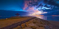 bale n karang (Gus Aik) Tags: sunrise sanur pantaikarang