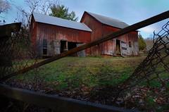 (DigitalCanvas72) Tags: old trees abandoned nature grass barn reflections angle wide longislandny land scape smithtownny calebsmithstatepark nikond7000dslr nikkor1685mmgedvrdx