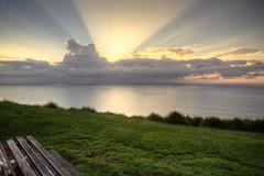 stanwellsrison (barryhatton33) Tags: sunrise sunbeam hdr stanwell norning