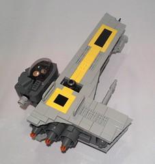 L Wing 0 (naugem) Tags: star lego wars alphabet starfighter fbtb lwing