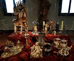 Lima Museo Palacio Arzobispal - esculturas y relieves Peru 01 (Rafael Gomez - http://micamara.es) Tags: peru y lima esculturas per museo palacio arzobispal arzobispado relieves