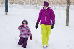 Sled Riding 2013-3 (TheDarrenSharp) Tags: winter evelyn bern 3yearsold sledriding