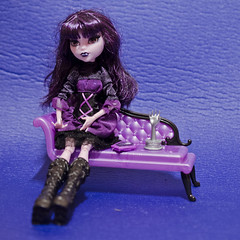Elissabat from MH (Darthbansh) Tags: monster doll vampire gothic collection mh fashiondoll gothiclolita collectiondoll monsterhigh elissabat