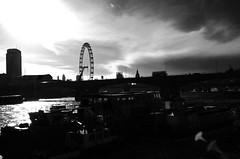 London....... (davidheath01) Tags: nikonflickraward london bridges wheels bus nikond5100 nikon blackandwhite monochrome