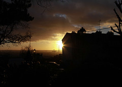 View of Paris from Sacr Coeur at Golden Hour (LostNCheeseland) Tags: paris eiffeltower cityscapes montmartre toureiffel