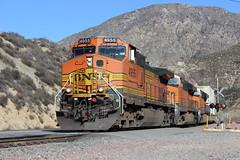 BNSF Stack Train on Cajon Pass (CaliforniaRailfan101 Photography) Tags: up unionpacific ge bnsf manifest emd atsf sd60m burlingtonnorthernsantafe cajonpass dpu es44dc gevo sd70m swarthoutcanyonrd sullivanscurve powermove c449w gp60m stacktrain ztrain sd70ace es44ac ac44ccte ac4400cw cajonca es44c4