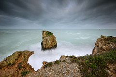 Small Worlds (CResende) Tags: seascape storm motion portugal clouds island waves small worlds nikkor d800 peniche 1635 cresende lucroit