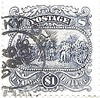 USA Stamp - retro, $1 (sftrajan) Tags: retro 1 stamp postagestamp sello timbre philately unitedstates филателия philatelie 郵便趣味