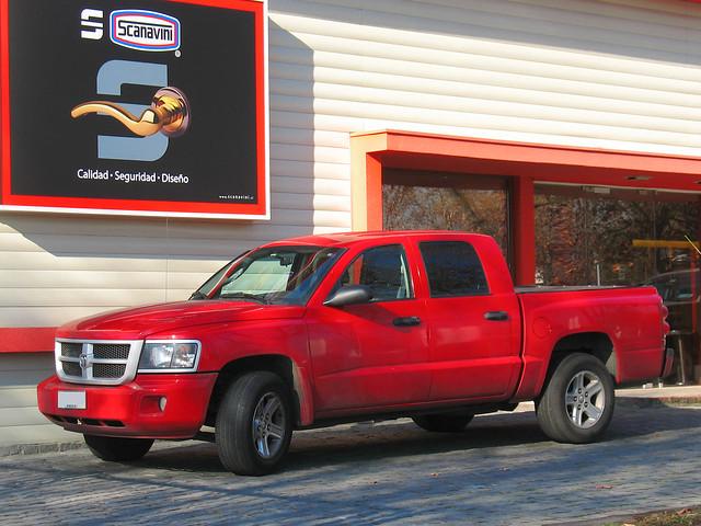 rojo 4x4 pickup dodge ram doublecabin redcars crewcab quadcab dakotaslt