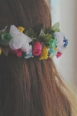 (Juliet in summer) Tags: flowers girl hair fairy crown flowercrown