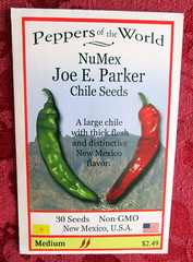 NuMex Joe E Parker Chile Seeds (genesee_metcalfs) Tags: chile newmexico pepper gardening vegetable seeds hotpepper