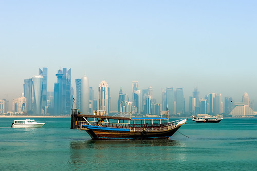Doha skyline by Francisco Anzola, on Flickr