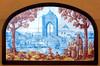 Azulejos. Restaurante Las Murallas II (Madrid) (Juan Alcor) Tags: madrid tiles alfredo cervecería cruzcampo azulejos cruzblanca ruizdeluna murallaii