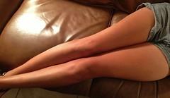 IMG_1527 (legsman37) Tags: hot sexy legs bare leg tan thigh thighs denim shorts tease knees knee seductive leggy longlegs daisydukes shortshorts jeanshorts denimshorts