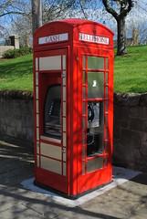 Sunderland, Bishopwearmoth Green pic1 (Rob redphonebox.info) Tags: red booth call phone box telephone british kiosk bt k6 telecom
