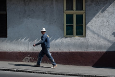 86/365 Dirty shadows (DaybreakProject) Tags: street man st project step streetphoto 365 daybreak zoran rasic 365project