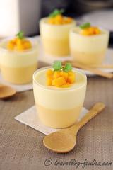 DSC_1600 s (travellingfoodies) Tags: mint mango yoghurt gelatine passionfruit cremefraiche mangue fruitdelapassion fullcream  mangoandpassionfruityoghurtpudding