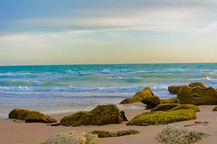 Cala de Conil al atardecer - 3 (cives-expat) Tags: españa playa curso experimentos conildelafrontera