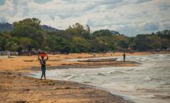 Daily Chores (Darryl Neeley) Tags: africa woman lake bay wash malawi local nyasa lakemalawi senga lilongwe lakenyasa sengabay