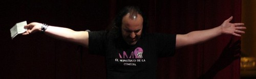 "El Monstruo de la Comedia - 2014 - Tercera Semifinal - El Jebi Christ • <a style=""font-size:0.8em;"" href=""http://www.flickr.com/photos/93117114@N03/14370263571/"" target=""_blank"">View on Flickr</a>"