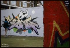 """REPRESENT"" (ed.dempsi) Tags: uk london canon graffiti artist southlondon rt represent crome stockwell canon7d cromert eddempsi eddempsiphotography graffitisubculture"