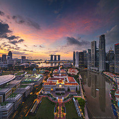 Streak (rh89) Tags: city urban panorama house skyline architecture marina square bay high nikon singapore cityscape view district pano central parliament panoramic aerial business crop environment format cbd d600