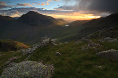GABLE'S GREETING (Steve Boote..) Tags: england sunrise landscape dawn nationalpark lakes lakedistrict cumbria manfrotto greatgable northwestengland sigma1020f456exdchsm leefilters ndgrads 03h thecorridorroute canoneos7d 09s steveboote