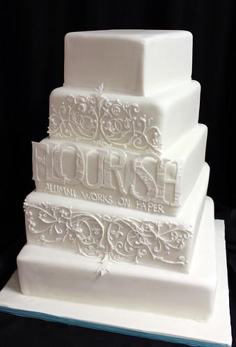 Mass Art Paper Show Cake
